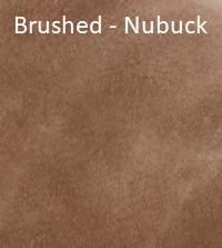 Nubuck Top Grain Sample