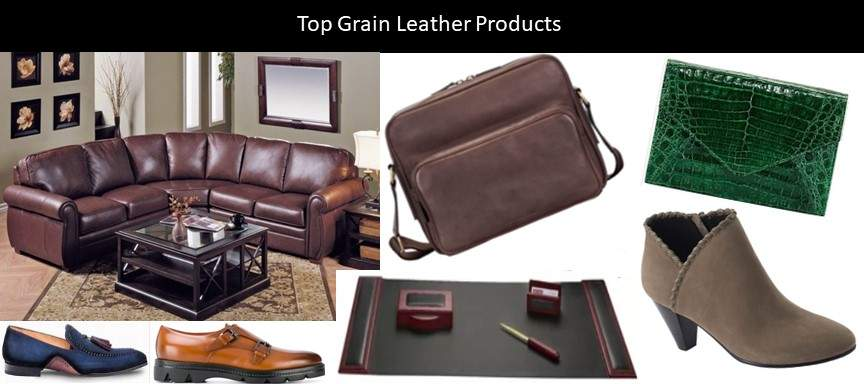 Top Grain Leather Products