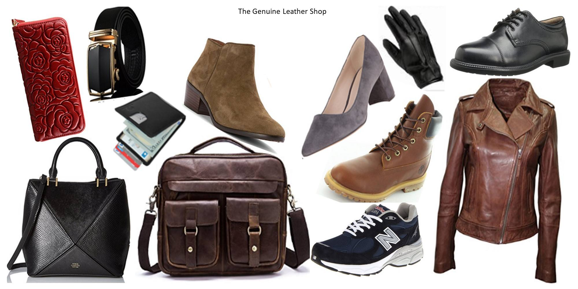 The Genuine Leather Shop Leather Products